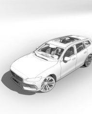 arquicar28 – 3D View – hidden FINE1