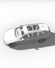 arquicar28 – 3D View – hidden FINE2