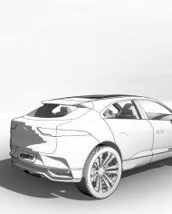 arquicar29 – 3D View – Rear