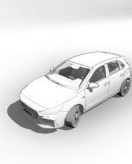 arquicar30 – 3D View – hidden FINE1