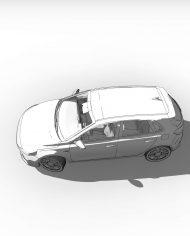 arquicar30 – 3D View – hidden FINE2