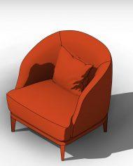 arquichair32 – 3D View – AXO hidden Copy 2