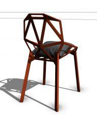 arquichair47 – 3D View – Fine Shaded