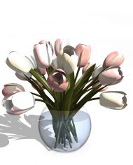 arquiflowers01 – 3D View – Hidden COARSE