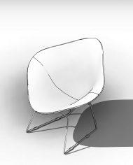 arquichair49 – 3D View – AXO hidden