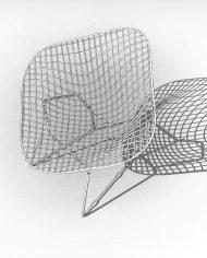 arquichair49 – 3D View – Coarse Hidden Line