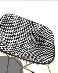 arquichair49 – 3D View – Fine Realistic no Edges