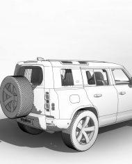arquicar31 – 3D View – Rear