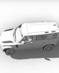 arquicar31 – 3D View – hidden FINE2