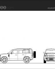 arquicar31 – Sheet – 1 – Hidden line Elevation