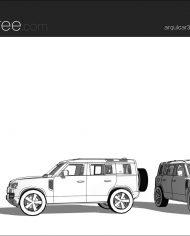 arquicar31 – Sheet – 3 – Hidden line Perspective