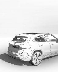 arquicar32 – 3D View – Rear