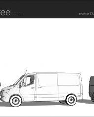 arquicar33 – Sheet – 3 – Hidden line Perspective